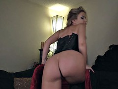 Angela sommers hot strip and pussy fingers