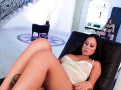 Natasha gets a little sexy time with a Kami Kai