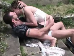 Busty british milf gets rammed
