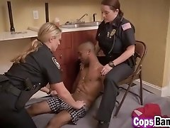 DAMN! These two PAWG cops love black cock!