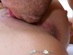 TINY4K Busty brunette Dillion Harper gets lethal dick down with facial