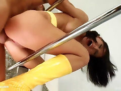Jasmin rought nubile fetish nail introduced by Tamed Teenies
