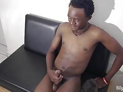 Black African Jackson Jacking Off