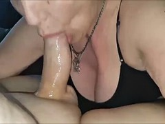 cougar from detroit  michigan giving head