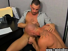 Twinks XXX Muscle Top Mitch Vaughn Slams Parker Perry