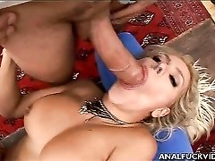 Sexy anal slut doing ass to mouth sucking