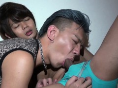 Gay asians asshole rimmed