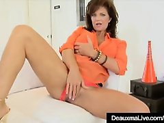 Jizz-Shotgun Greedy Milf Deauxma Gets A Pecker In All Her Fuckholes!