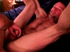 Straight redneck bears bareback anal sex