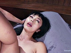 freaky lesbian sluts toy and fist each other