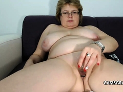 Charmy Mature Making Herself Cum Hard With A Sex Toy