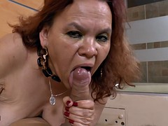 Agedlove bbw grandmother gloria shows her pussy