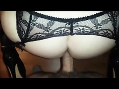 Assfucked and squirting - doggystyle