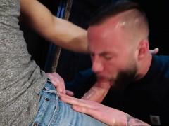 Big cock jock anal sex and cumshot