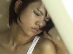 Asian teen caught rubbing