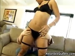Asian Max Shows Off Her Ass
