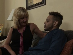 Stepmom fucks for facial