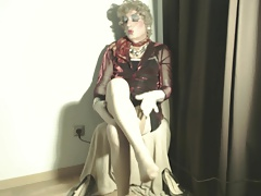 video 1157 b fitting vintage ff beige rht nylons