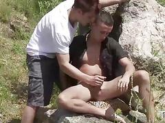 TWINK BOY MEDIA Ass Fucking in the Wild Nature