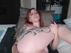 Redhead milf anal dildo
