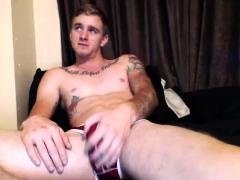 Horny amateur gay twinks naughty bareback encounter