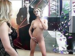 Cherie Deville submits to dominatrix Randi Wright