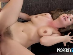 All-natural model Lena Paul fucked hard in the doggy style pose