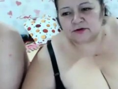 Hot sexy BBW enjoying with partner on webcam