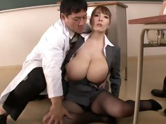 Two Asian doctors explore the curves and holes of a plump beautiful patient (part 1)