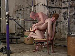 Pleasure and pain explored during gay BDSM for Sean Taylor and Avery Monroe