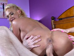 phoenix marie rides the cock while getting her ass licked by kylie nicole