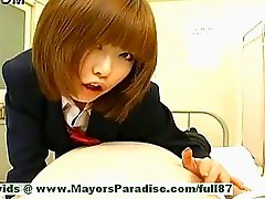 Rio Hamasaki,  Lovely Japanese Model Teasing A Man